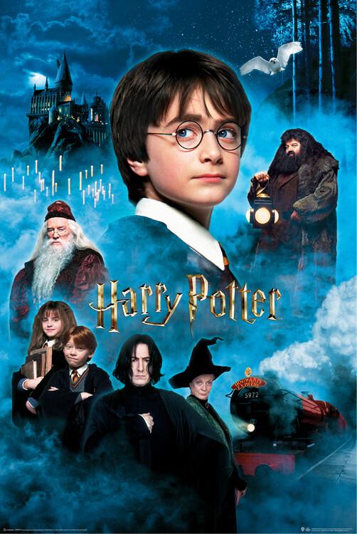 Poster Harry Potter e a Pedra Filosofal