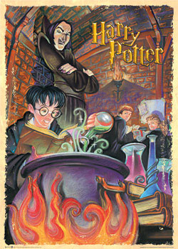 HARRY POTTER - snape classroom Poster, Art Print