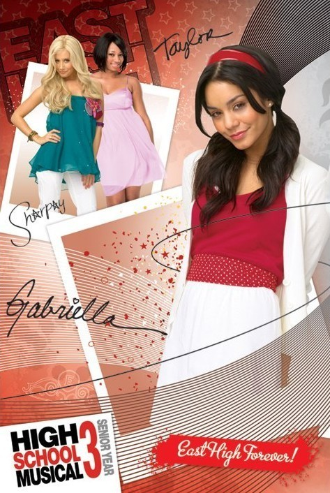 HIGH SCHOOL MUSICAL 3 - gabriella Poster