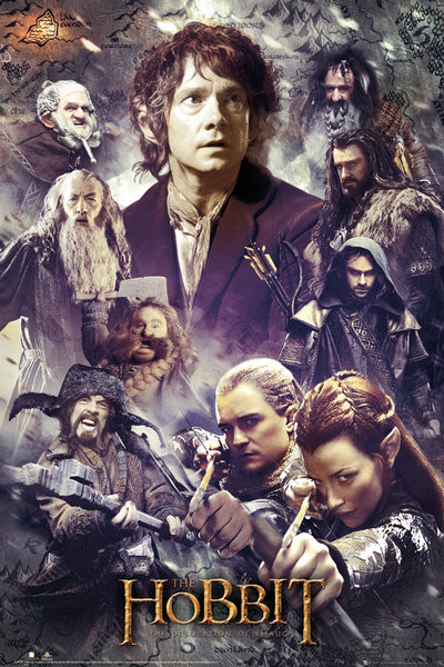 hobbit dos collage gb poster sold at abposters com