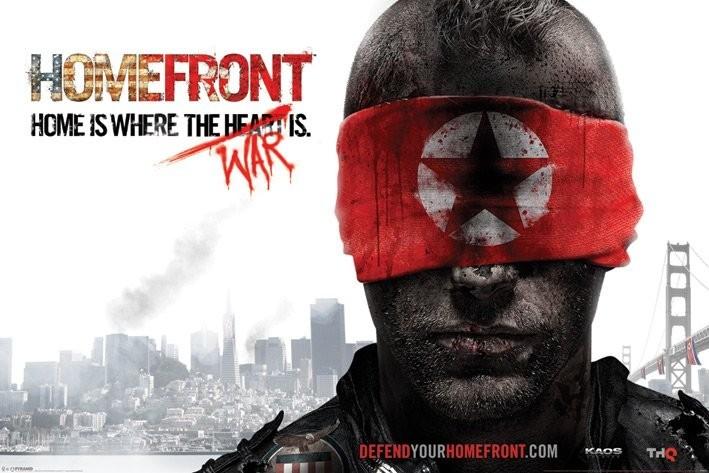 Homefront - blindfold  Poster