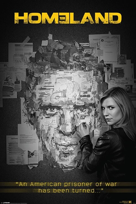 Poster Homeland - Pinboard
