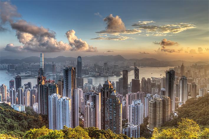 Hong Kong - Victoria Peak Poster
