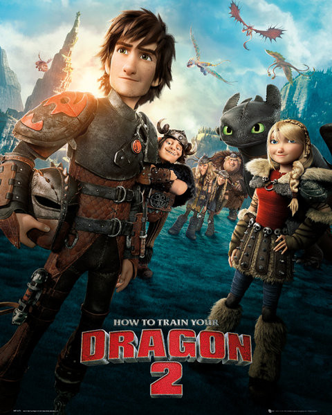How to Train Your Dragon 2 - One Sheet Poster