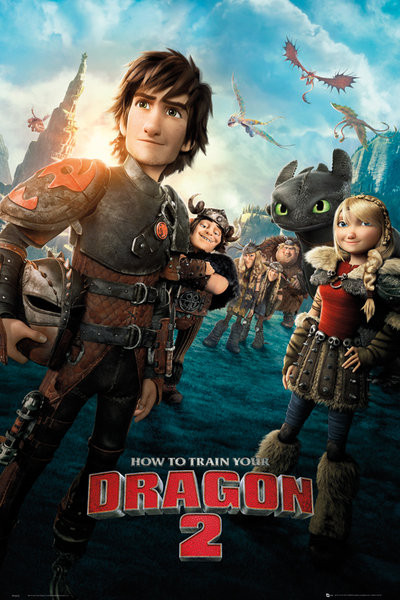Poster quadro how to train your dragon 2 one sheet em europosters 3 ccuart Images
