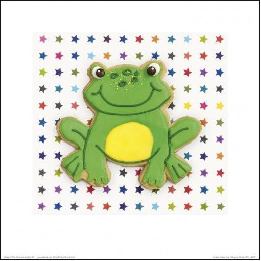 Howard Shooter and Lauren Floodgate - Happy Hoppy Frog Art Print