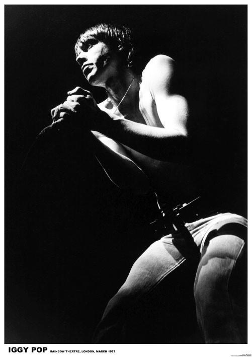 Poster IGGY Pop - London 1977