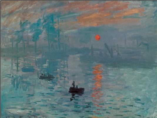Impression, Sunrise - Impression, soleil levant, 1872 Art Print