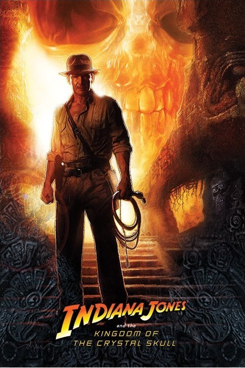 Poster INDIANA JONES - kindom of the crystal skull teaser