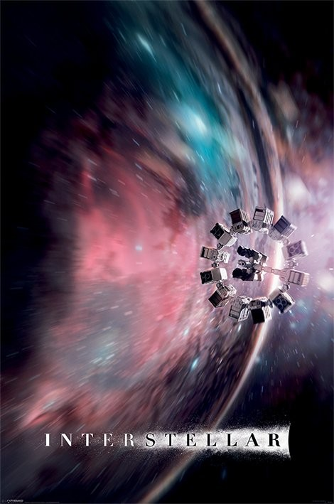 Poster Interstellar - Go Further