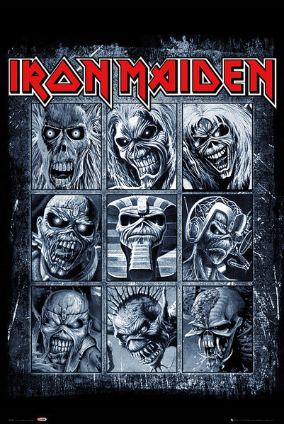Iron Maiden - Eddies Poster