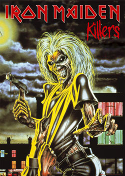 Iron Maiden - Killers Poster, Art Print