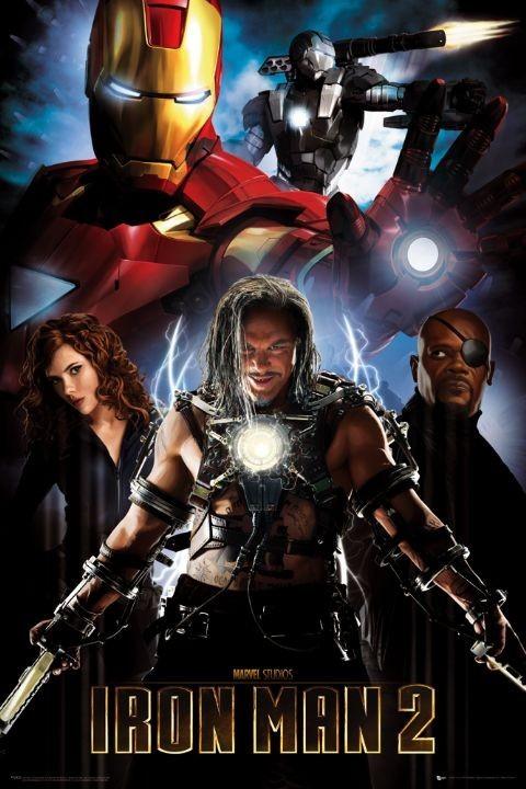 Iron Man 2: IRON MAN 2 - Collage Poster