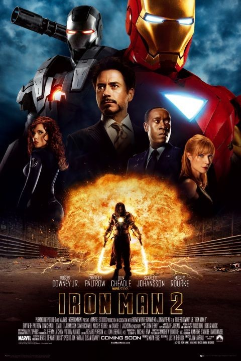 Pôster IRON MAN 2 - one sheet