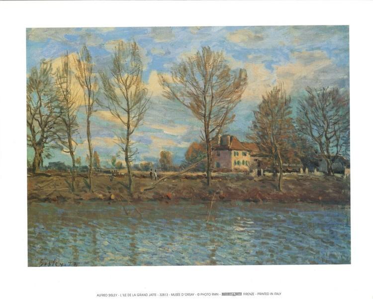 Island of La Grande Jatte Art Print