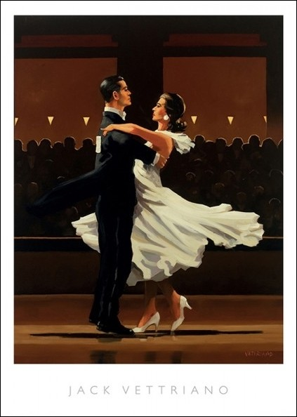 The Letter Jack Vettriano greeting card