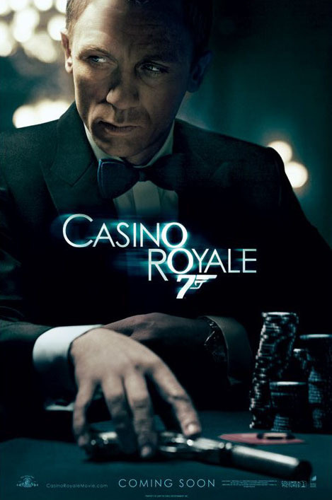 JAMES BOND 007 - casino royale teaser Poster, Art Print