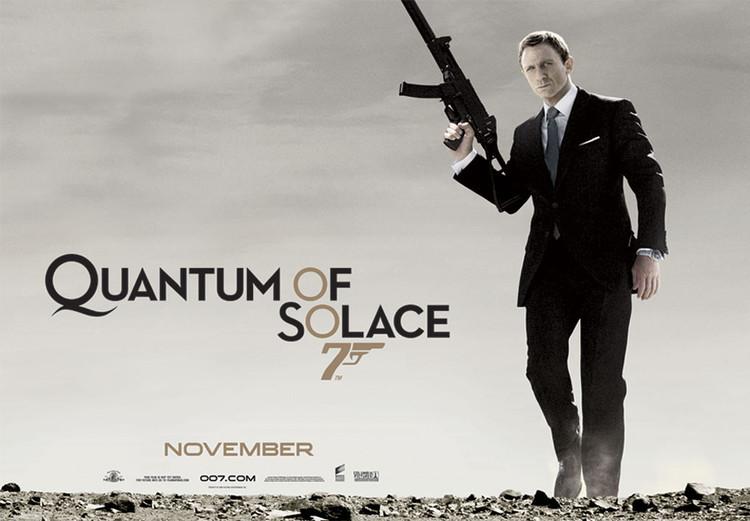 JAMES BOND 007 - quantum of solace  Poster