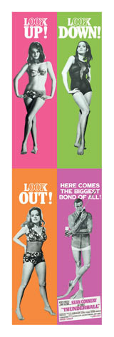 JAMES BOND 007 - thunderball Poster, Art Print