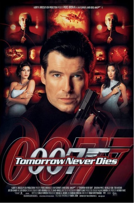 JAMES BOND 007 - tomorrow never dies Poster, Art Print
