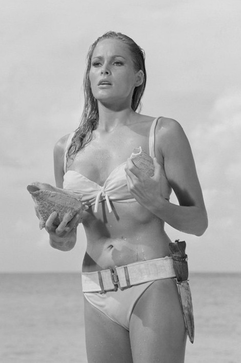 Poster James Bond 007 - ursula andress