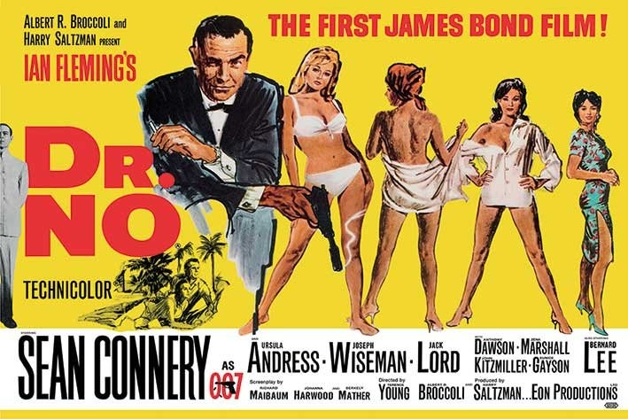 JAMES BOND - Dr.No Poster | All posters in one place | 3+1 FREE