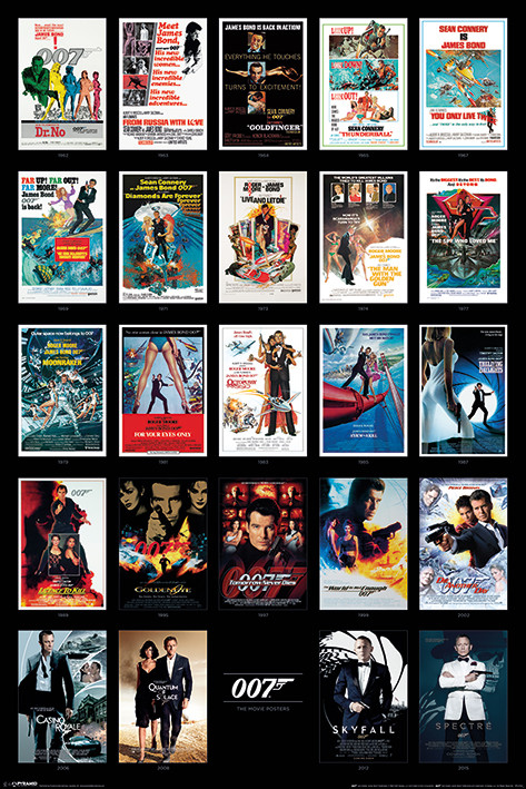 James Bond - Movie Posters Poster