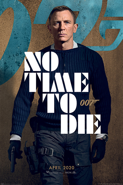 James Bond - No Time To Die Poster | All posters in one place | 3+1 FREE