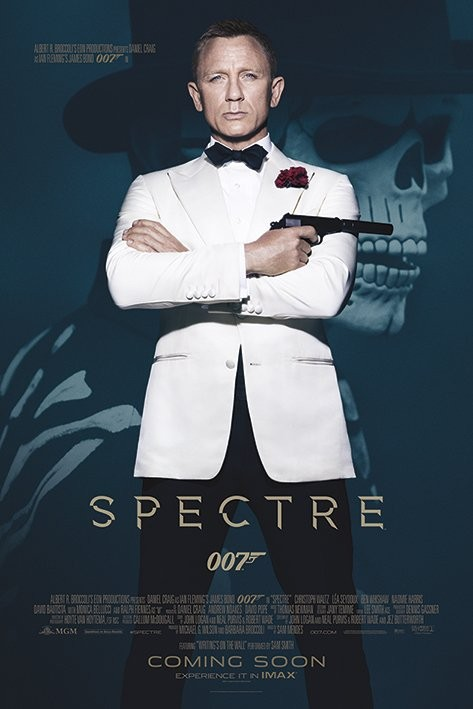 James Bond: Spectre - Skull Poster