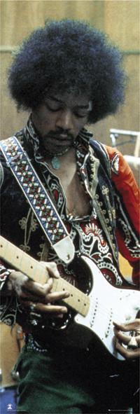 Pôster Jimi Hendrix - studio
