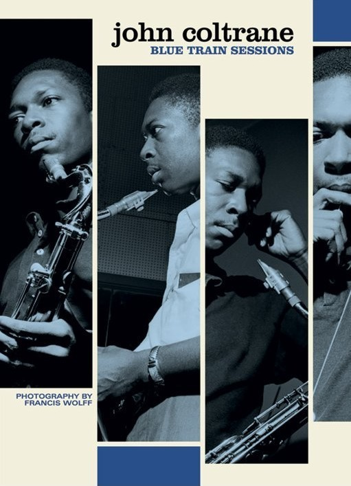 John Coltrane - train session Poster, Art Print