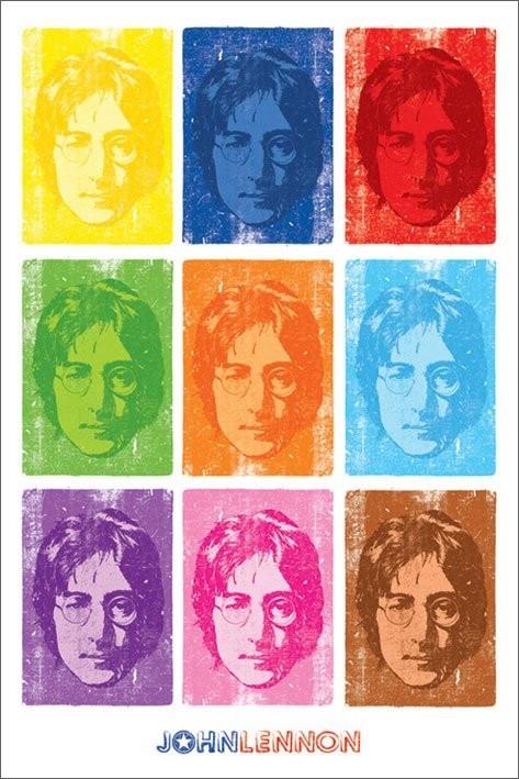 John Lennon - pop art Poster