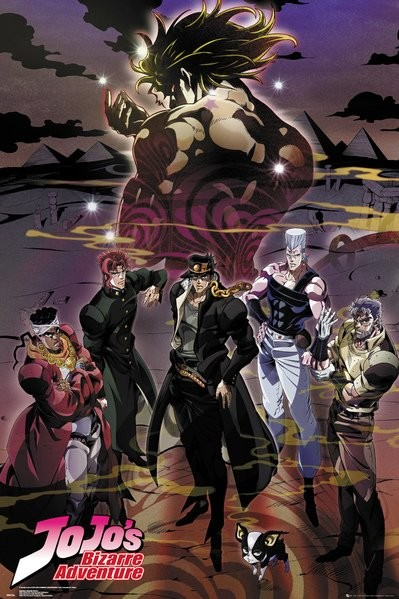 Jojo's Bizarre Adventure - Group Poster