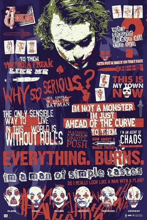 Poster Joker - Quotes