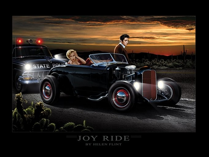 Joy Ride - Helen Flint Art Print
