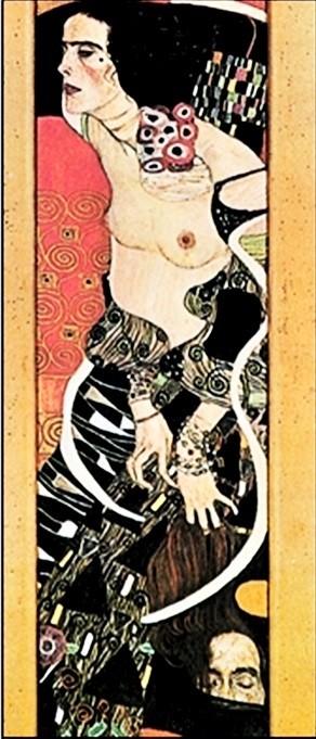 Judith II Salomé Art Print