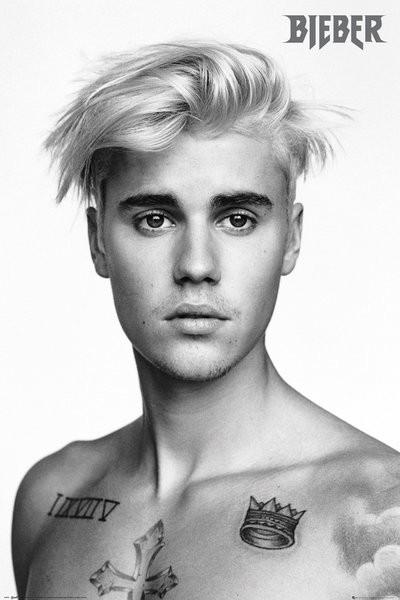 Justin bieber pinup poster