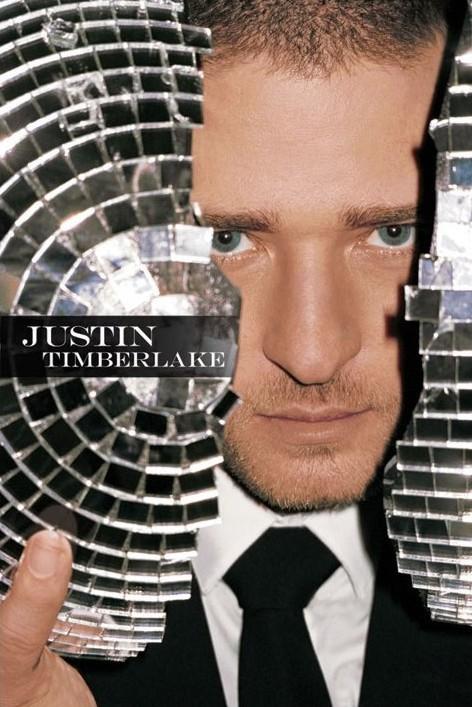 Justin Timberlake - mirrorball Poster, Art Print