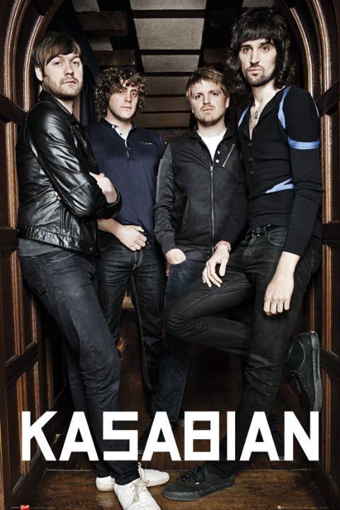 Kasabian - archway Poster, Art Print