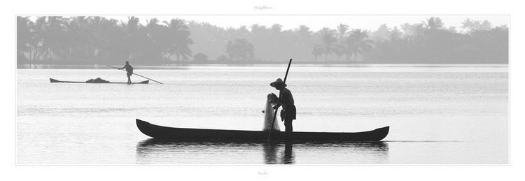 Kerala - Inde du sud Art Print