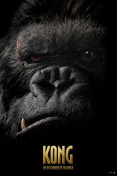 KING KONG - face Poster