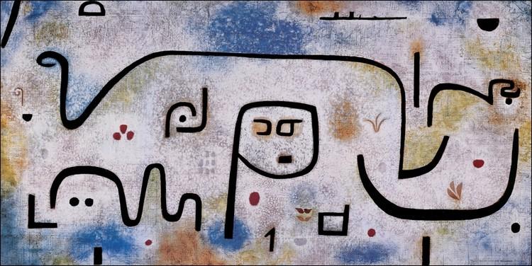 Klee - Insula Dulcanara Art Print