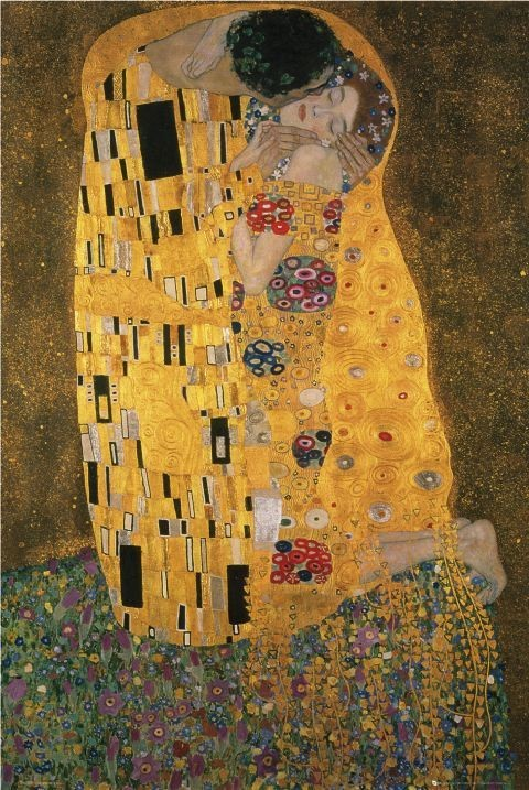 Klimt - the kiss Poster