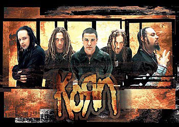 Korn – gold Poster, Art Print