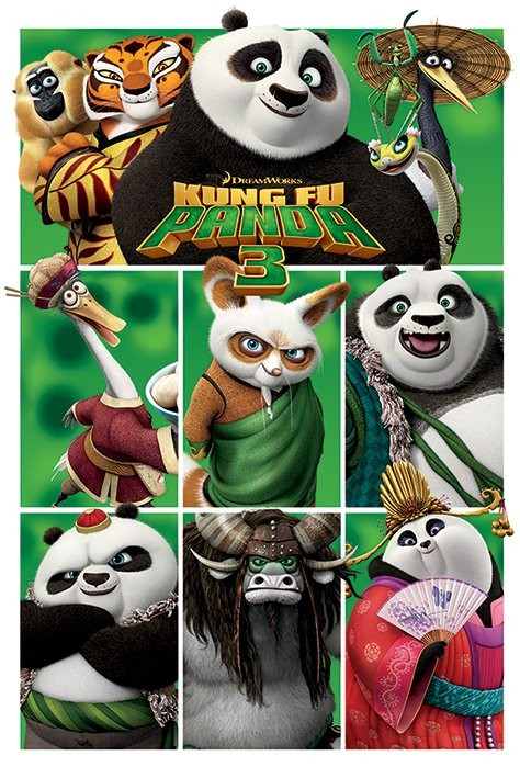 Kung Fu Panda 3 - Characters Poster   Sold at Europosters