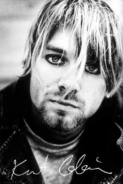 Kurt Cobain - signature Poster