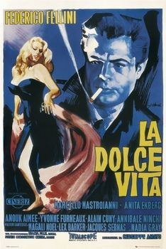 LA DOLCE VITA - one sheet Poster