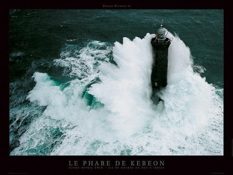Le phare de Kéréon Art Print