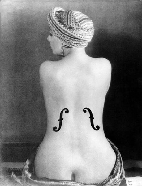 Le Violon d'Ingres - Ingres's Violin, 1924 Art Print