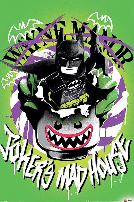 Lego Batman - Joker's Madhouse Poster